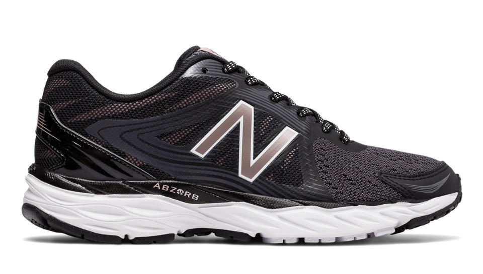 New Balance New Balance 680v4, Black with Magnet \u0026 Champagne