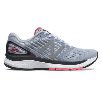 New Balance 860v9, Ice Blue with Pink Zing