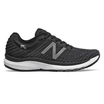 New Balance 860v10, Black with Gunmetal & Lead
