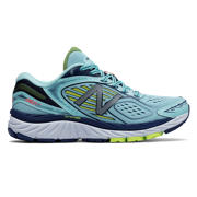 NB New Balance 860v7, Ozone Blue with Lime Glo