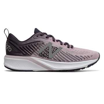 New Balance Women's 870v5, Oxygen Pink with Iodine Violet