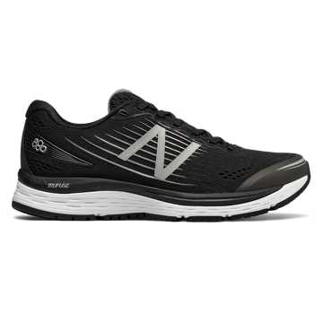 New Balance 880v8, Black with White