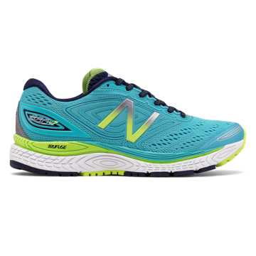 New Balance 880v7, Vivid Ozone Blue with Lime Glo & Pigment