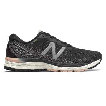 New Balance 880v9 GTX, Black with Magnet & White Oak