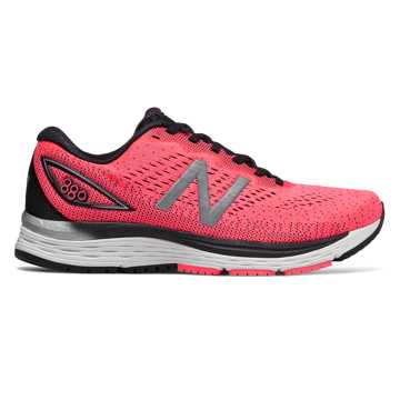 New Balance 880v9, Guava with Black & Silver Metallic
