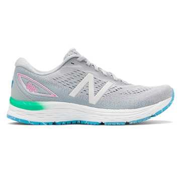 New Balance 880v9, Light Aluminum with Steel & Bayside