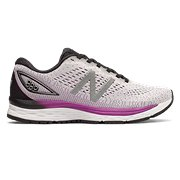 cd924e45b1bb3 New Balance 880v9, White with Voltage Violet & Black