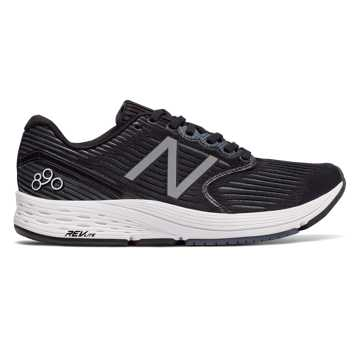 New Balance 890v6, Black with White