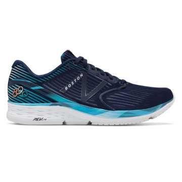New Balance Women's 890v6 Boston, Pigment with Navy