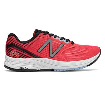 New Balance 890v6, Coral with Black & Clear Sky
