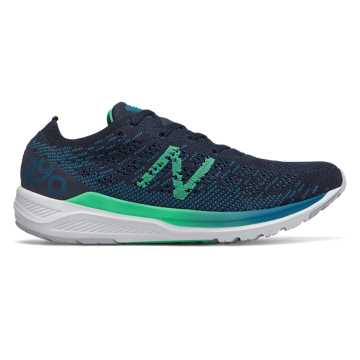 New Balance 890v7, Dark Neptune with Eclipse & Neon Emerald