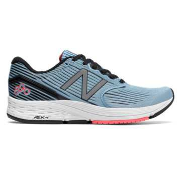 New Balance 890v6, Clear Sky with Coral & Black