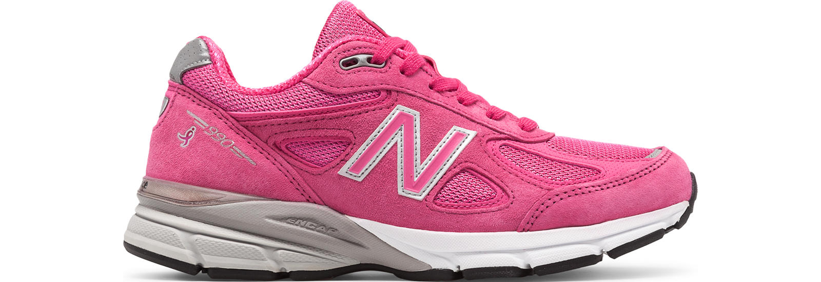 Womens 990v4 Made in US Pink Ribbon