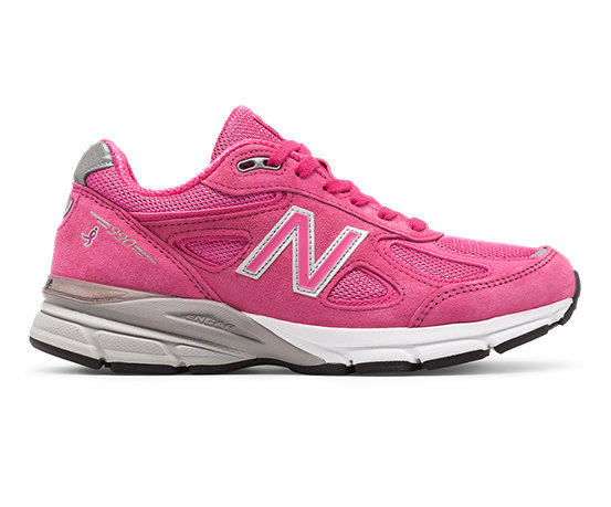 New Balance Pink Ribbon 990v4 Made in US Women's Made in USA Shoes - (W990K-V4)