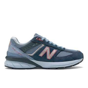 New Balance Made in US 990v5, Orion Blue with Lyons Blue