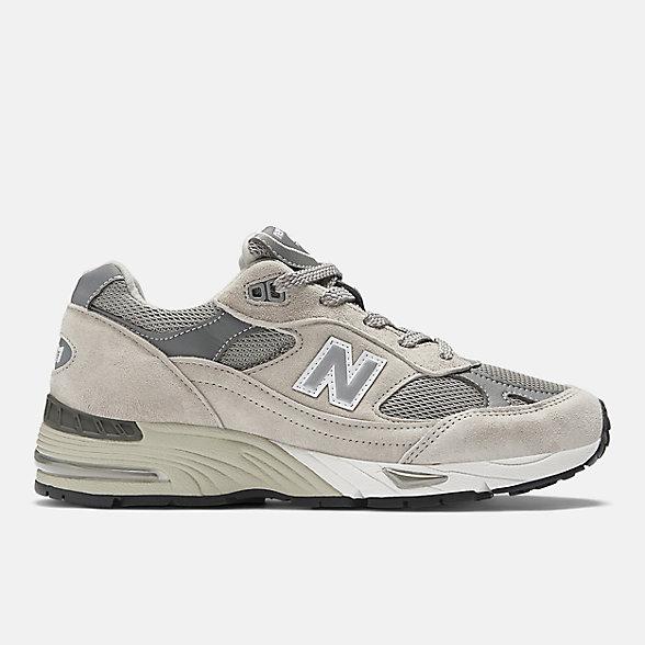New Balance 英国原产991系列女款复古休闲鞋, W991GL