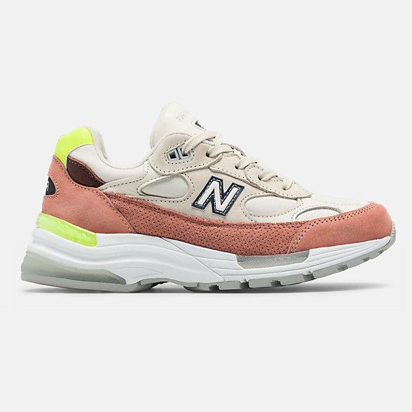 New Balance 美国原产992系列女款复古休闲鞋, W992IWD