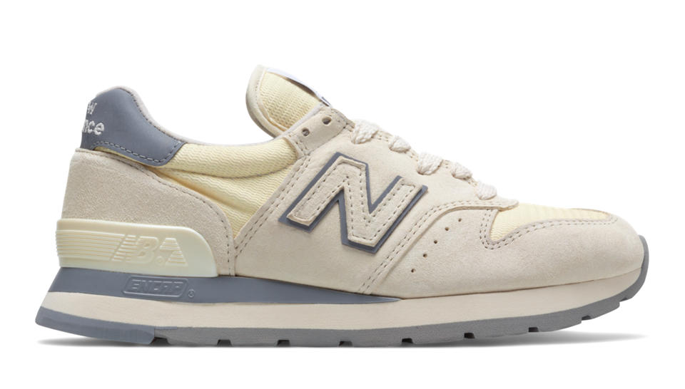new balance suede sneakers