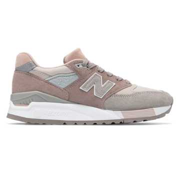 New Balance 998 Made in US, Grey with White