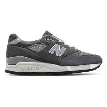 New Balance 998, Charcoal