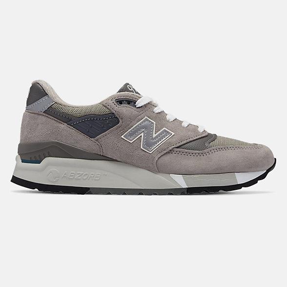 New Balance 美国原产998系列女款复古休闲鞋, W998G