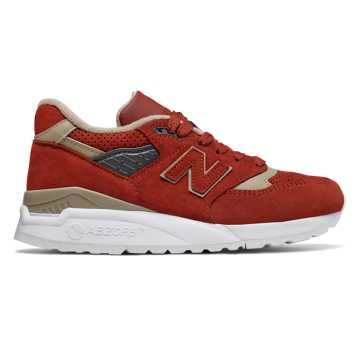New Balance 998 Made in US, Rust with Tan
