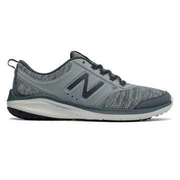 New Balance 85, Grey with Moss Green