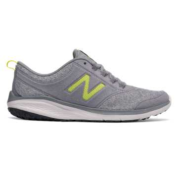 New Balance 85, Grey with Yellow
