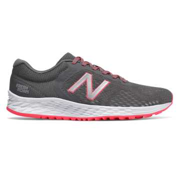 New Balance Fresh Foam Arishi v2, Grey with Guava