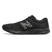 New Balance Fresh Foam Arishi v2, Black & Metallic Gold