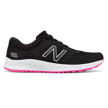 New Balance Fresh Foam Arishi v2, Black with Peony