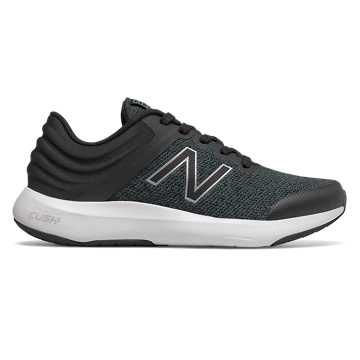 New Balance RALAXA, Black with Silver Metallic & White