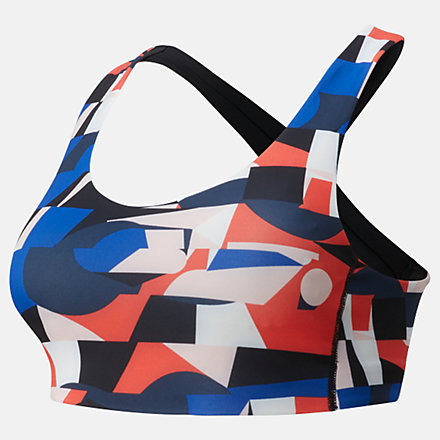 New Balance NB Fuel Bra Printed, WB01048NEF image number null