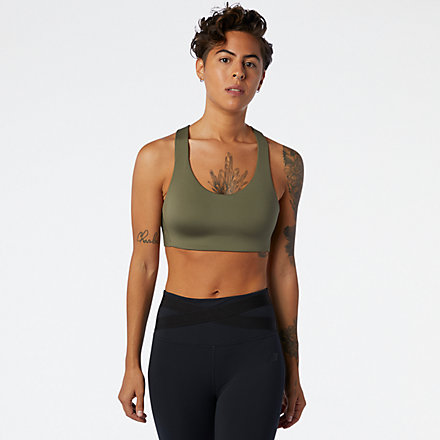 New Balance NB Fortiflow Bra, WB03031NTG image number null