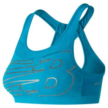 New Balance NB Pulse Bra, Maldives Blue