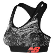 NB NB Pace Printed Bra, Black Multi