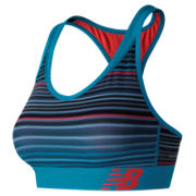 NB NB Pace Printed Bra, Maldives Blue
