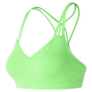 New Balance NB Studio Bra, Green Flash