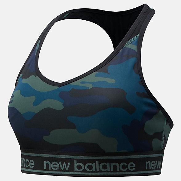 New Balance NB Pace Bra Printed 2.0, WB91035FRS