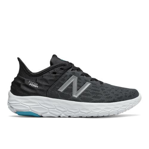 New Balance Fresh Foam Beacon v2 - Black/Grey - Mujeres EU 39, Black/Grey