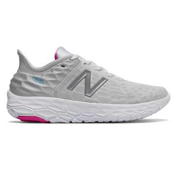 New Balance Fresh Foam Beacon v2, White with Summer Fog & Bayside