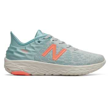 New Balance Fresh Foam Beacon v2, Camden Fog with Newport Blue & Ginger Pink
