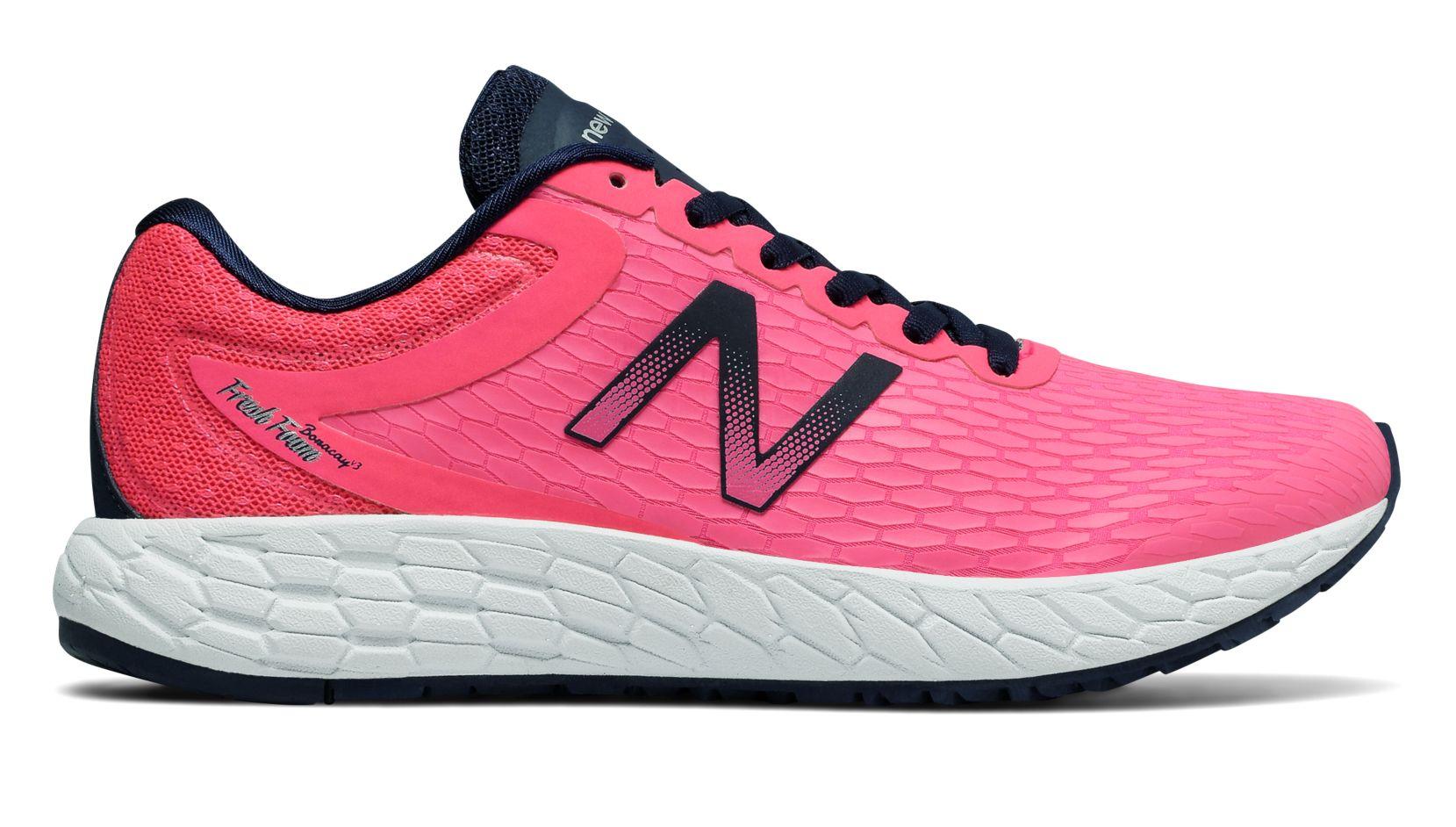 NB Fresh Foam Boracay v3 Alpha Pink with Vivid Tangerine  Pigment