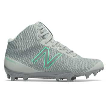 New Balance Women's BURNX2 Mid, Grey with White