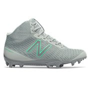 cheap for discount 4747f 12e04 New Balance Burn X Mid-Cut, Grey with White
