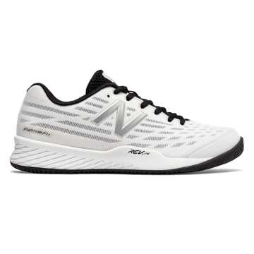 New Balance 896v2, White with Black