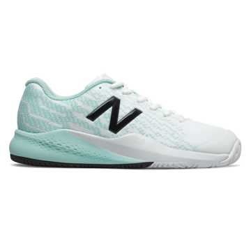 New Balance 996v3, White with Light Reef