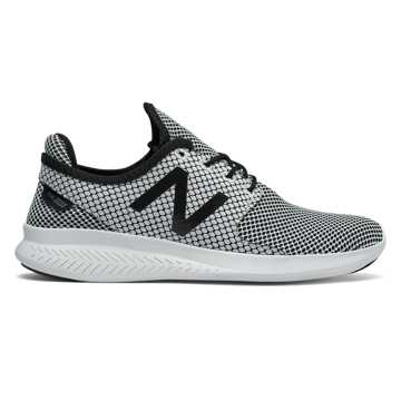 New Balance FuelCore Coast v3, Black with White