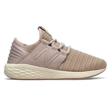 New Balance Fresh Foam Cruz Hoo-guh, Faded Birch with Au Lait & Alabaster