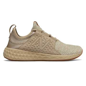 New Balance Womens Fresh Foam Cruz, Linseed